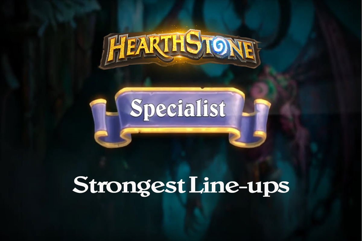 Hearthstone | Strongest Lineups for Specialist Format | Cursed