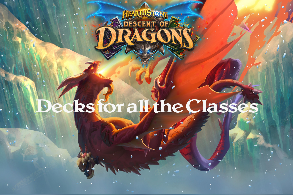 Hearthstone | Descent of Dragons: Decks for each Class | Cursed