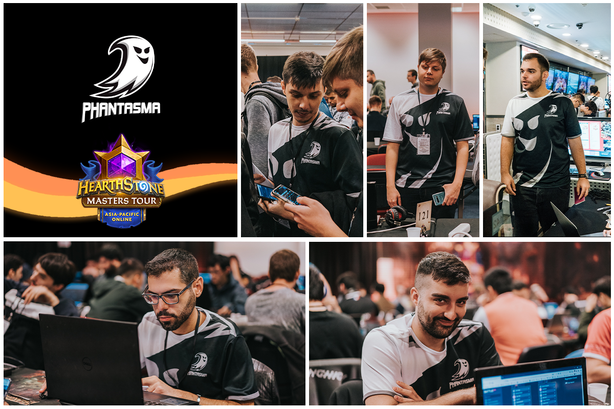 Hearthstone Masters Tour Online: Asia-Pacific | Our entire roster is in attendance!