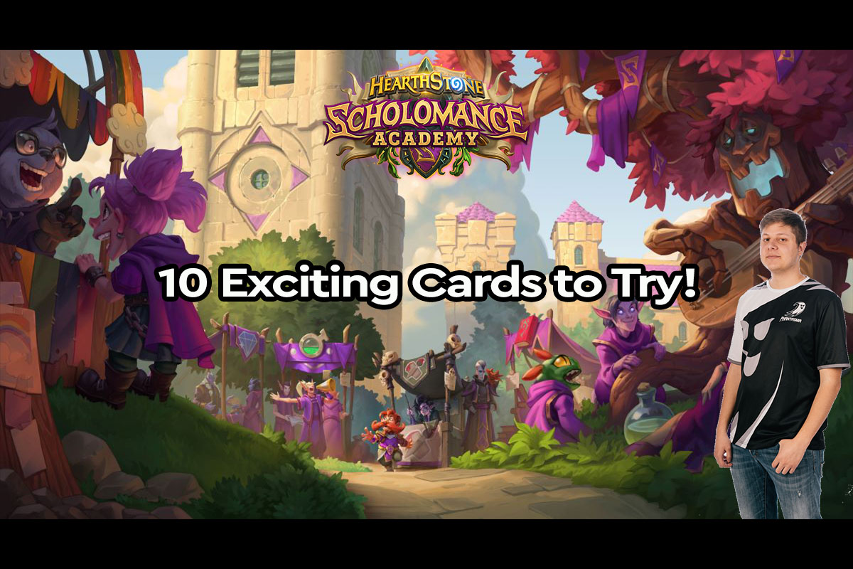 Hearthstone | 10 Exciting Scholomance Academy Cards to Try! | Pain